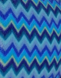 zigzag blauw