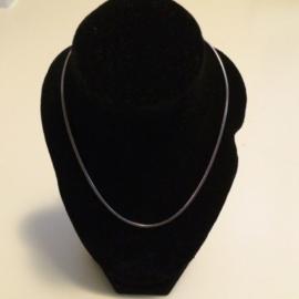 Lengte collier – 52 cm – slang – 1,1 mm