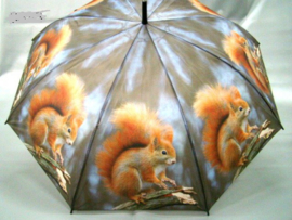 Paraplu met eekhoorn