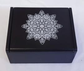 Houten doosje zwart