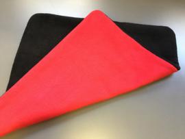 anti-plasmat 2 kleuren effen fleece (eigen kleur/maat keuze 60 breed)