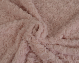 Fur rozen - dusky roze
