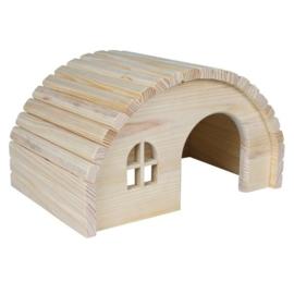 Boog houten huis