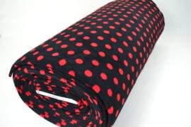 Zwart rode stip 20