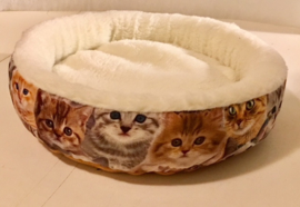 Mand katten print met teddy