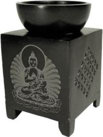 Olieverdamper zeepsteen, Boeddha