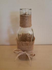 Fles recht jute-touw