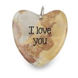 I Love You - Marmeren Gelukshart