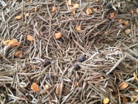 Magun - Sparrennaalden/ kurkuma-zwarte peper Bio 75 gram