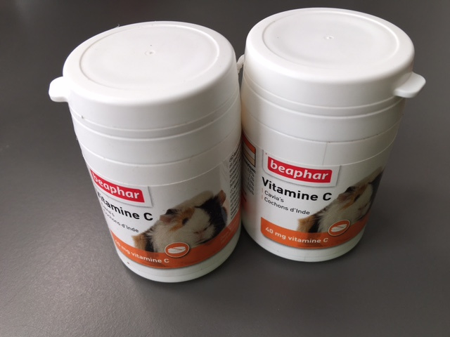 Beaphar Vitamine C Voor Cavia 180 stuks
