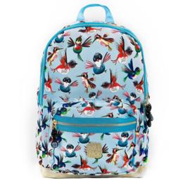 Pick & Pack Rugzak Vogels Blauw M
