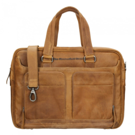Chesterfield Business tas Samual Cognac