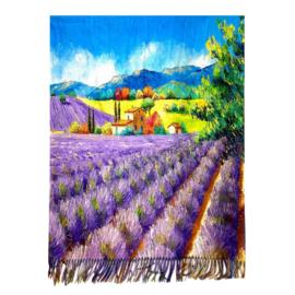 "Sjaal Tranh Phong ""Lavendel"""