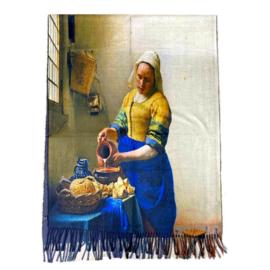 """Sjaal Johannes Vermeer """" Het Melkmeisje"""""""