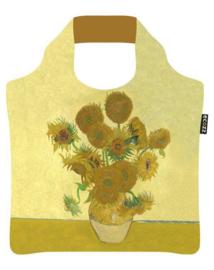 """Ecoshopper Draagtas """"De Zonnebloemen""""  Vincent van Gogh"""