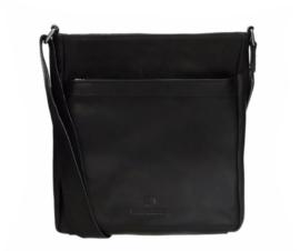 MicMac Bags Schoudertas Colorado Zwart