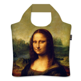 "Ecoshopper Draagtas ""Mona Lisa""  Leonardo da Vinci"