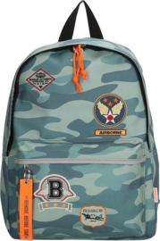 Beagles Rugzak Airforce Camouflage Blauw