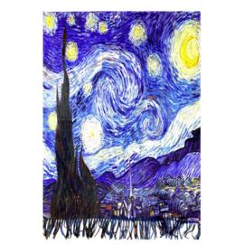 """Sjaal Vincent van Gogh """"Sterrenhemel"""""""