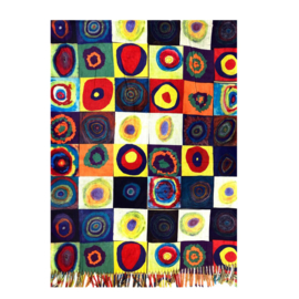 """Sjaal Wassily Kandinsky """"Concentric Circles"""""""