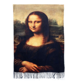 "Sjaal Leonardo Da Vinci ""Mona Lisa"""