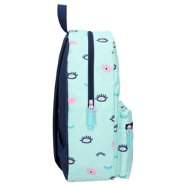 Milky Kiss Rugzak Stay Cute Eye Mint