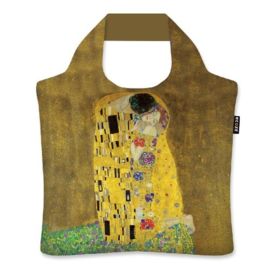 "Ecoshopper Draagtas ""De Kus"" Gustav Klimt"