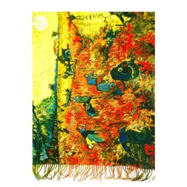 """Sjaal Vincent van Gogh """"The Red Vineyard"""""""