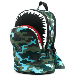 Pick & Pack Rugzak Haai Camouflage Blauw M