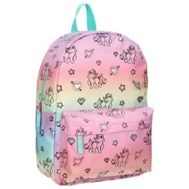Milky Kiss Rugzak Rainbows & Unicorns L
