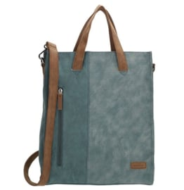 Beagles Shopper Brunete Jeansblauw