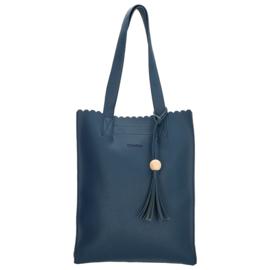Charm Shopper Blauw