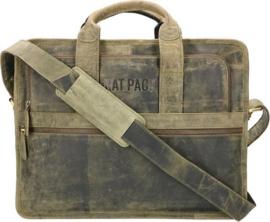 Rat Pack Hand Messenger Schoudertas 15.6'' Bogart Groen