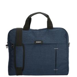 Enrico Benetti Laptoptas Sydney 15 inch Blauw