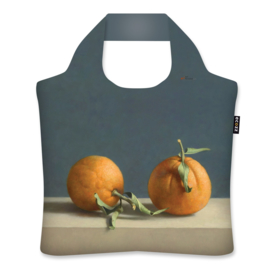 "Ecoshopper Draagtas ""Twee sinaasappels"" Henk Helmantel"