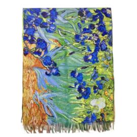 """Sjaal Vincent van Gogh """"Irissen"""""""