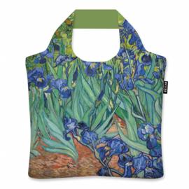 """Ecoshopper Draagtas """"Irissen"""" Vincent van Gogh"""