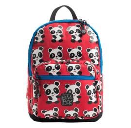 Pick & Pack Rugzak Panda S Rood