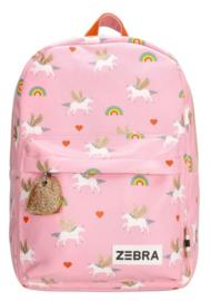 Zebra Trends Rugzak M Unicorn Love Roze