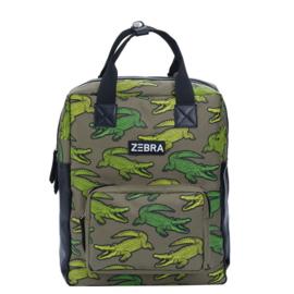 Zebra Trends kinderrugzak L Croco