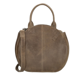 Micmacbags Handtas Côte d' Azur Donker Taupe