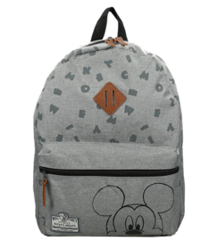 Disney Mickey Mouse kinderrugzak Grijs