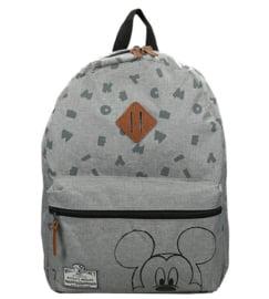 Disney Mickey Mouse kinderrugzak Grijs