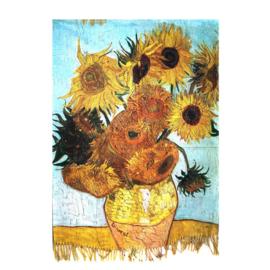 """Sjaal Vincent van Gogh """"Zonnebloemen"""""""