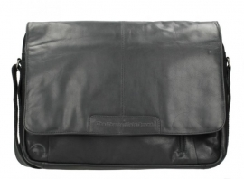 Chesterfield Laptopbag Richard Wax Pull Up Black