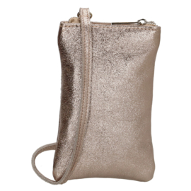 Charm London Telefoontasje Elisa Metallic Taupe