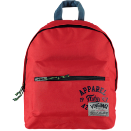 Vingino Rugzak Vedri Boys Flame Red - Rood