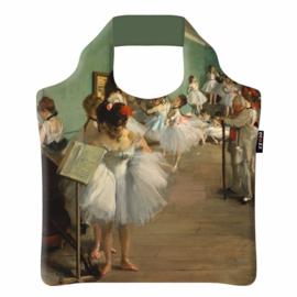 """Ecoshopper Draagtas """"De balletklas"""" Edgar Degas"""