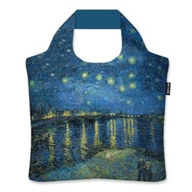 "Ecoshopper Draagtas ""Starry Night Over The Rhone"" Vincent van Gogh"