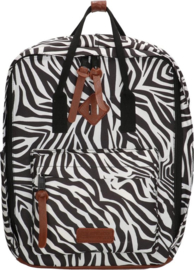 Enrico Benetti Rugtas Londen 14 Inch Zebra